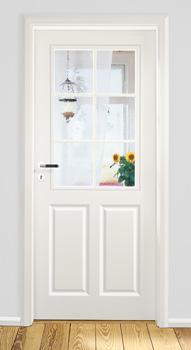 Zimmertüren weiß mit glasausschnitt  MDF-Klassiker | Schöne Türen